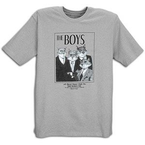 Akoo The Boys S/S T Shirt   Mens   Casual   Clothing   Heather Grey