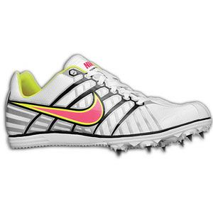 Nike Zoom Rival D 6   Womens   Track & Field   Shoes   White/Black