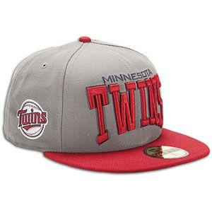 New Era MLB Pro Arch Cap   Mens   Baseball   Fan Gear   Twins   Storm