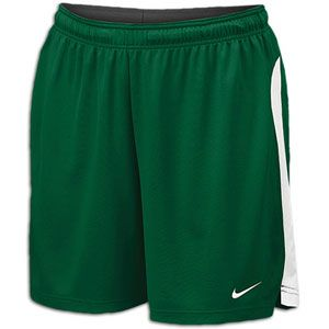 Nike Elite Short   Womens   Lacrosse   Clothing   Dark Green/White