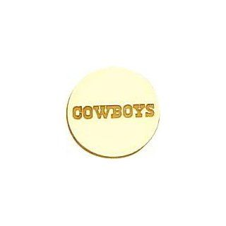 14K Gold NFL Dallas Cowboys Tie Tac Jewelry