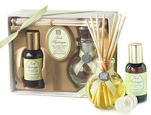 Aromatique Fresh Hydrangea Mini Reed Diffuser Set Beauty