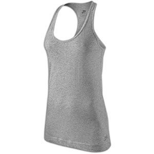 Nike The Racer Tank   Womens   Casual   Clothing   Dark Grey Heather