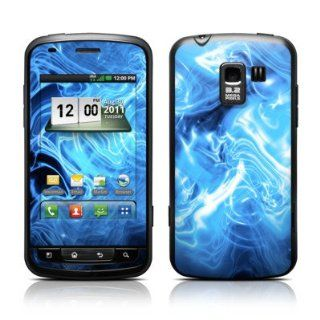 Blue Quantum Waves Design Protective Skin Decal Sticker