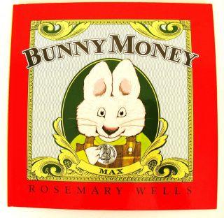 Ruby Bunny Money Rosemary Wells Book Funny Cute Kids Learn Math