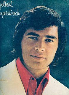 Englebert Humperdinck 1970 Sweetheart Tour Concert Program