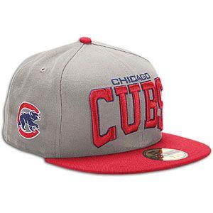 New Era MLB Pro Arch Cap   Mens   Baseball   Fan Gear   Cubs   Storm