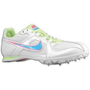 Nike Zoom Rival MD 6   Womens   Track & Field   Shoes   White/Pink