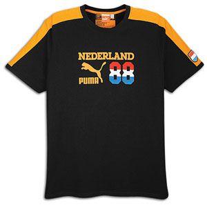 PUMA Football Archives T7 Ringer T Shirt   Mens   Soccer   Fan Gear