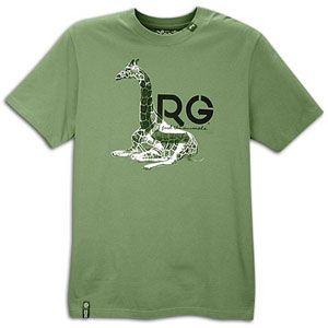 LRG Leg Resting Giraffe S/S T Shirt   Mens   Casual   Clothing