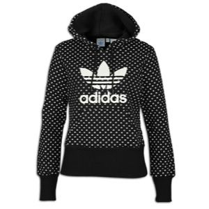 adidas Trefoil Lips Pullover Hoodie   Womens   Casual   Clothing
