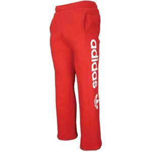 adidas Originals Big Logo Fleece Pant   Mens   Casual   Clothing
