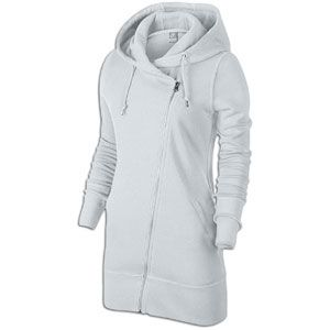 Nike Light Weight Long Full Zip Hoodie   Womens   Casual   Clothing