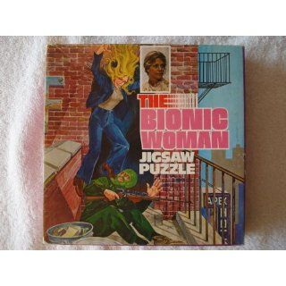 Bionic Woman Lindsay Wagner 121 Pieces Jigsaw Puzzle Everything Else