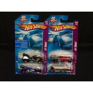 2008 Hot Wheels Jet Rides Set of All 4 (121 Jet Threat 4.0