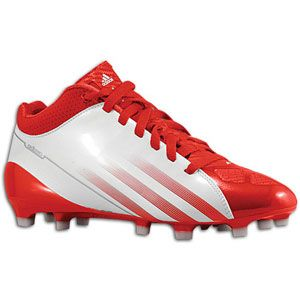 adidas adiZero 5 Star Mid   Mens   White/University Red/Metallic