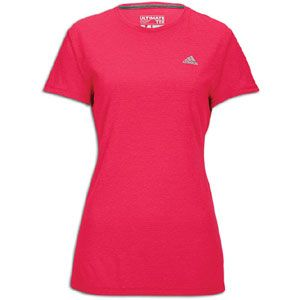 adidas Ultimate Workout T Shirt   Womens   Bright Pink Heather