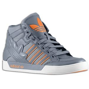 adidas Originals Hard Court Hi Big Logo   Boys Grade School   Lead