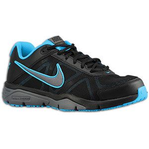 Nike Dual Fusion TR 3   Mens   Black/Blue Glow/Black/Metallic Dark