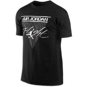 Jordan Classic Flight T Shirt   Mens   Basketball   Clothing   Black