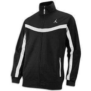 Jordan Team Jacket   Mens   Basketball   Clothing   Black/White