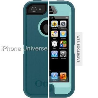 OtterBox Defender Case iPhone 5 Reflection Aqua Blue Mineral Blue US
