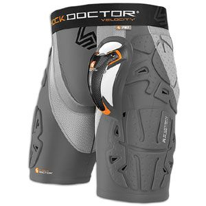 Shock Doctor Velocity Shockskin 5 Pad Short With Cup   Mens
