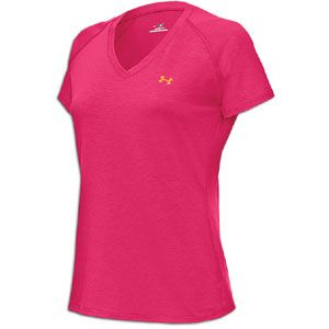 Under Armour Tech S/S T Shirt   Womens   Training   Clothing   Fluo