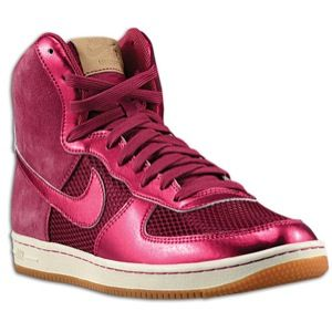 Nike Air Force 1 Light High   Womens   Rave Pink/Rave Pink/Silver/Gum