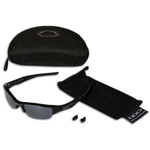 Oakley Flak Jacket Sunglasses   Baseball   Accessories   Jet Black