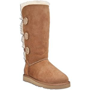 UGG Bailey Button Triplet   Womens   Casual   Shoes   Chestnut