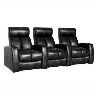 Lane 123 Prestige Home theater Seats in Black Leather
