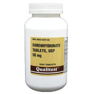 Dimenhydrinate 50 Mg Tablets