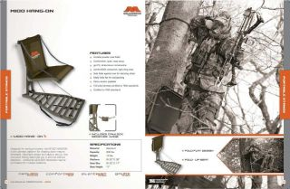 Millennium M100 Hang on Fixed Position Deer Hunting Tree Stand