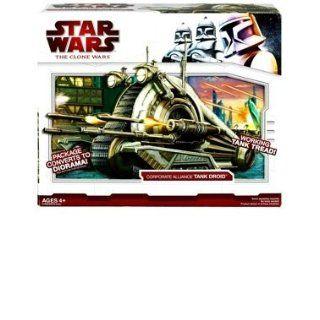 Star Wars Clone Wars Star Fighter Vehicle   Corporate Alliance Tank
