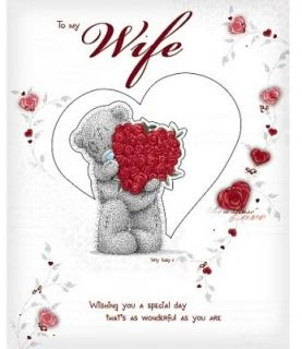 Me to You Love Collection Birthday Cards Wife Husband Girlfriend