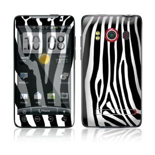 Zebra Print Protective Skin Cover Decal Sticker for HTC Evo 4G (Sprint