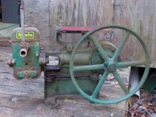 Cast Iron Well Water Piston Industrial Pump Steampunk Hit Miss
