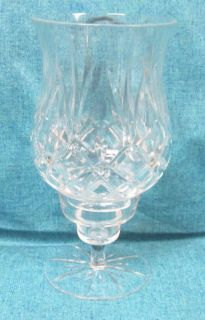 Gorham Crystal Hurricane Lamp