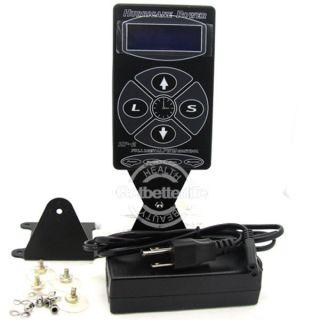 Hurricane Digital LCD Blue Screen Tattoo Machine Gun Power Supply