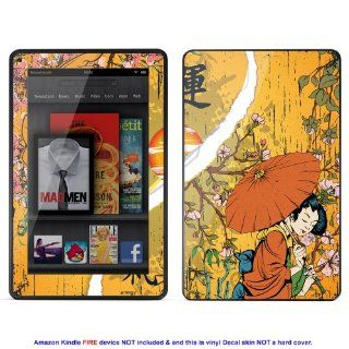 Skin sticker for  Kindle Fire case cover Kfire 132 Electronics