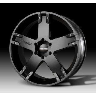 MOMO Car Wheel Rim   Storm G.2   Black   22 x 9.5 inch   6 on 135 mm