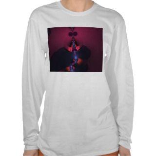 Magenta Ghost – Rose & Indigo Delight T Shirt