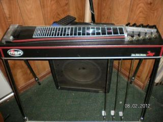 1970s MSA The Red Baron Pedal Steel Guitar