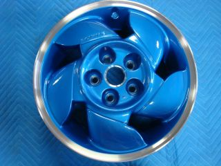 Pontiac Grand Prix Blue 16x6 5 Aluminum Wheel 1992 1993