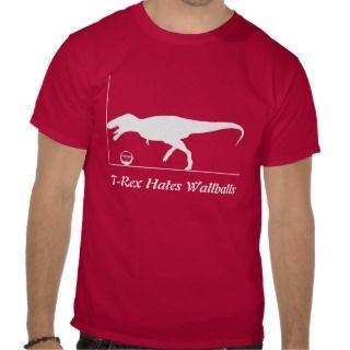 Rex hates kettlebells Tshirts
