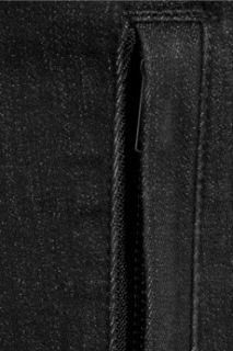 Helmut Lang Stretch cotton denim biker vest   70% Off