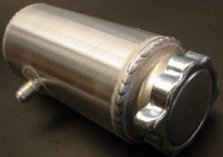 New Spun Aluminum Power Steering Tank Reservoir Overflo