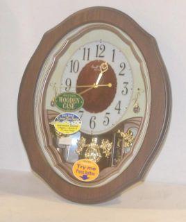 Rhythm Clocks 4MJ894WD06 17 inch Precious Angel Musical Wall Clock