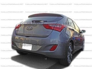 2013 Hyundai Elantra GT Polished Muffler Exhaust Tip